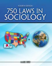 750 Laws in Sociology by Mark Bird