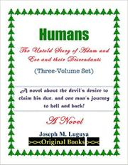 Humans by Joseph Luguya