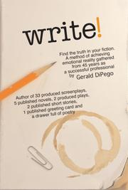 WRITE! by Gerald DiPego