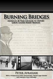 Burning Bridges by Peter Afrasiabi