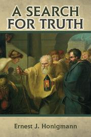 A Search for Truth by Ernest Honigmann