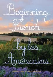 Beginning French by Les Américains