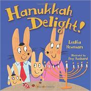 HANUKKAH DELIGHT! by Lesléa Newman