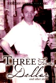 THREE FOR A DOLLAR Cover