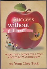 SUCCESS WITHOUT FULFILLMENT  by Au Yong Chee  Tuck