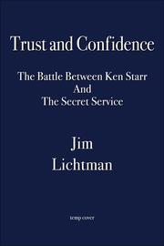 TRUST AND CONFIDENCE Cover