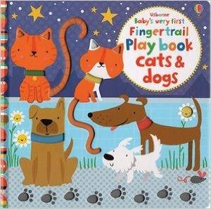 USBORNE BABY'S VERY FIRST PLAYBOOK CATS & DOGS